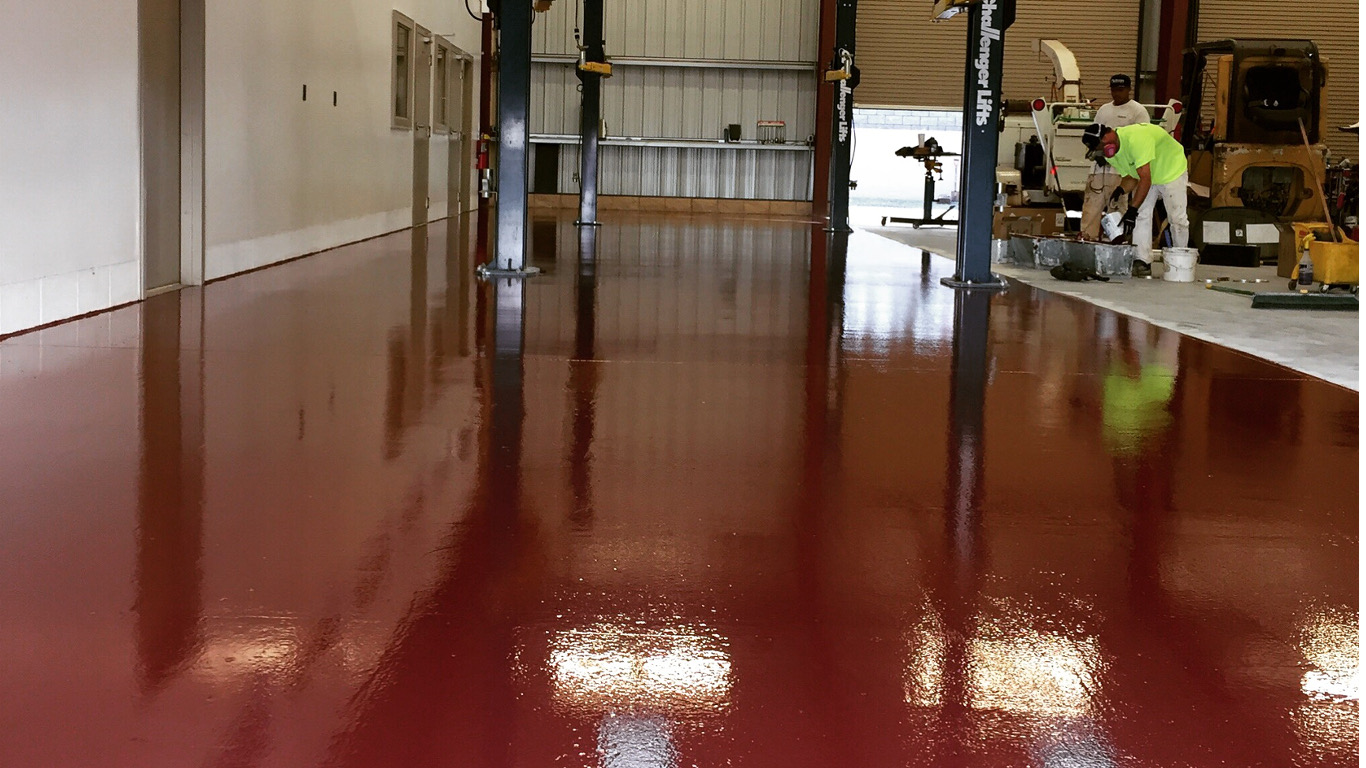 Nelson Painting Is A Garage Floor Coating Installer On Kauai Indoor Concrete Floors With Epoxy Or